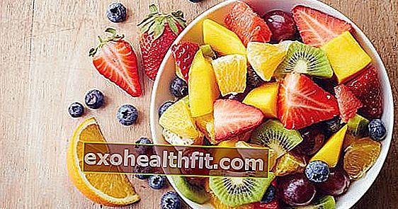 Meyve renkleri: organizmanız için her birinin neyi temsil ettiğini keşfedin