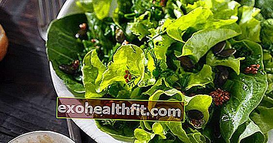 الخضار الورقية الأساسية للصحة تستهلك بشكل متكرر