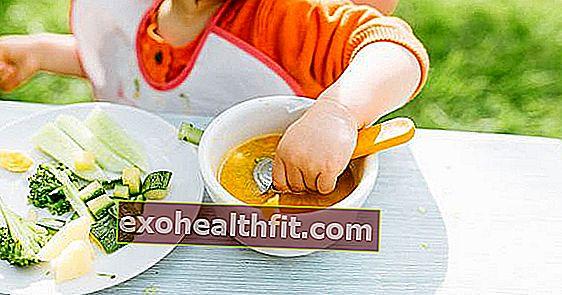 Ketahui kombinasi sayur yang hebat untuk makanan bayi