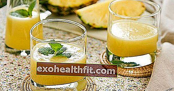 Succo d'ananas con menta, cavolo cappuccio, zenzero e altro: 6 opzioni da fare in casa