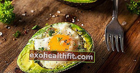 Alpukat dengan telur adalah resipi yang sihat! Ketahui mengapa mula menyediakannya