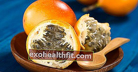 Tutku meyvesine benzeyen Kolombiya tropikal meyvesi olan granadilla'yı keşfedin